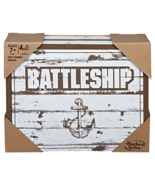 Battleship Rustic Edition Series Hasbro Parker Brothers Wooden Box Board... - $51.48
