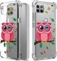 CoverON Designed for Motorola Moto One 5G ACE Case/Moto G Case, Slim Owl - $20.48