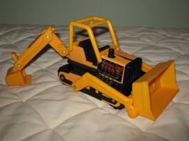 Buddy L bulldozer with backhoe - $14.00