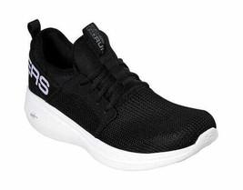 Men's Skechers GOrun Fast Valor Running Shoe Black/White - $91.44
