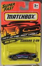 1990's Matchbox #43 Camaro Z-28 Black mint on card - $2.99