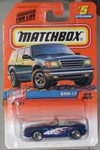 1990's Matchbox # 5 BMW Z3 Stars and Stripes mint on card - $2.99