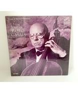 THE ART OF PABLO CASALS-NM1964LP MONO Treasury of Immortal Performances - £9.65 GBP