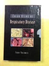 Color Atlas of Respiratory Disease 4 Paperbacks & Slipcase - $0.99