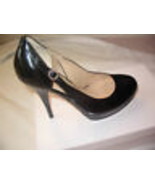 GUESS Black Patent Classic Women Heel Shoes Size 9 NEW - $43.56