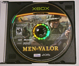 XBOX - MEN OF VALOR (Game Only) - $6.75