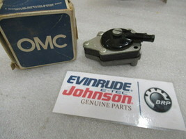 P15A Johnson Evinrude OMC 433387 Fuel Pump Assembly OEM New Factory Boat Parts - $111.99