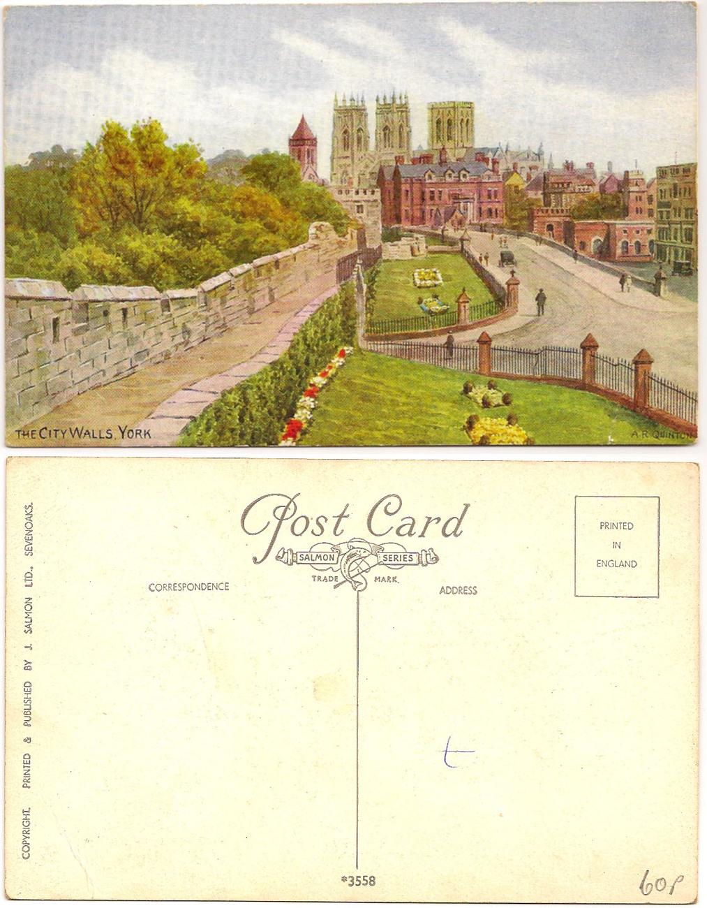 Yorkcitywalls postcard
