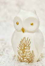 "Lenox Everyday Wishes Owl Figurine Pottery White Small 2.75"" Tall ""Wisdom"" - $22.77"