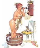 Vintage Hilda Plus Size Girl 1950's  Reproduction Print #10 - $24.95