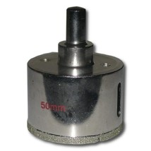 50mm Diameter Diamond Coated Core Drill Bit - $24.85