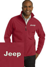 Jeep Reed Embroidered Port Authority Core Soft Shell Unisex Jacket NEW - $39.99