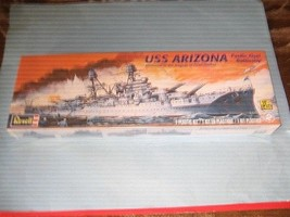 Revell USS Arizona Pacific Fleet Battleship 1:426 Scale Model Kit 85-030... - $12.86