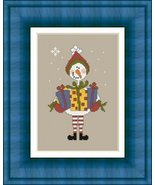 Bearing Gifts 2009 snowman winter christmas PDF cross stitch charts Helg... - $5.00