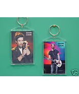David Cook 2 Photo Designer Collectible Keychai... - $9.95
