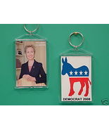 Hillary Clinton Democrat 2 Photo Collectible Ke... - $9.95