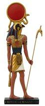 "Ancient Egyptian Hieroglyph Inspired Sun God Ra Collectible Figurine 10""... - £19.17 GBP"