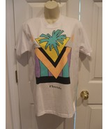 new in pkg fruit of the loom florida tee shirt 100% cotton made in USA M... - $12.86