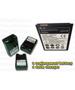 Samsung Galaxy S3 SCH R530 Battery + External Charger Dock Travel US Cel... - $17.58