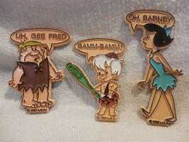 Flintstones 1992 HBPI Refrigerator Magnet Set - Barney, Betty & Bamm-Bam... - $6.95