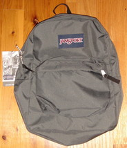 JanSport Superbreak Backpack ~ Forge Gray ~ NWT - $32.00