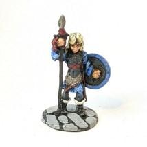 Vintage Ral Partha 10-302g High Elf w. Spear Metal Miniatures 1976 - $11.64