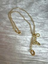 Necklace, 14 Karat Yellow Gold, Lariat Style, 18 inch, Adjustable - $90.00