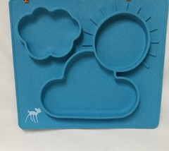 PloveS One Piece all-in-one Baby Feeding Placemat - Silicone - No Slip -... - $17.45