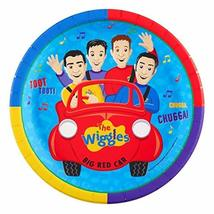 The Wiggles Greg Anthony Murray Jeff Big Red Car Edible Cake Topper Imag... - $9.99
