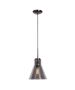Access Lighting 63991-BCH/SMK Pendants Black Chrome Metal Simplicite - $112.00