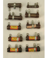 Group of 10 Ohmite Dividohm Resistors Various Ratings  - $15.00