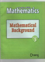 Mathematics - Mathematical Background - Grade 3 - Houghton Mifflin - SC . - $1.35
