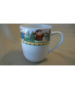 Snowman in Sweater Coffee Cup by Debbie Hron from Gibson, 2003 Pattern - $14.85