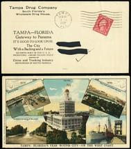 Tampa Drug Co - Tamps Scenes Tourism Multicolor Advertising Cover - Stua... - $135.00