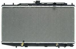 RADIATOR HO3010164 FOR 88 89 90 91 HONDA CIVIC / CRX 1.5L 1.6L image 2
