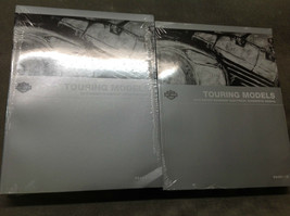 2012 Harley Davidson TOURING MODELS Service Repair Shop Manual Set W Electrical - $267.25