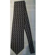 Gucci Horsebit 100% Silk Neck Tie Italy Preowned Brown Tan - $19.00