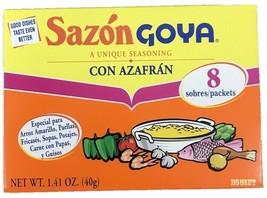 Goya Sazon Con Azafran - Latin Seasoning with Saffron 1.41 oz - $5.93