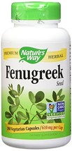 Nature's Way Fenugreek Seed, 180 Capsules Pack of 2