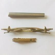 Lot of 3 Tie Clip Bar Vintage Anson Swank Swords - $6.88