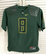 Nike,Youth,Medium,University of Oregon Ducks,No.8,Green,Jersey,College F... - $16.82