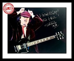 Ultra Cool - AC/DC - Angus Young - Rock Legend - Authentic Hand Signed A... - $169.99