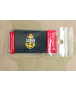 USN US NAVY CPO CHIEF PETTY OFFICER E-7 RANK EMBROIDERED COVERALL INSIGN... - $6.92