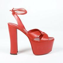Yves Saint Laurent Leather Platform Sandals SZ 40 - $335.00