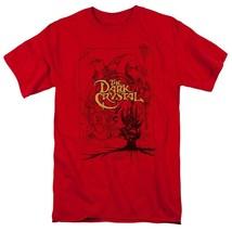 The Dark Crystal T Shirt retro 1980s fantasy movie Jim Henson red tee DKC123 image 1