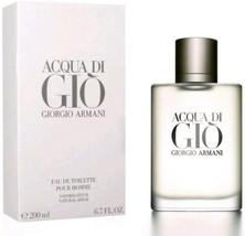 Acqua Di Gio By Giorgio Armani Eau De Toilette Pour Homme 6.7 oz / 200 M... - $148.45
