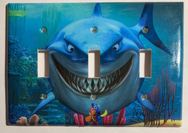 Finding Nemo, Dory & Shark Light Switch Power Outlet Cover Plate Home decor image 5