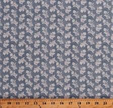 Something Blue Edyta Sitar Flowers Floral Cotton Fabric Print by Yard D3... - $12.49