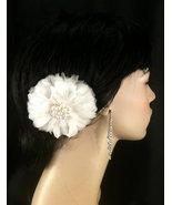 Bridal Feather Fascinator, Bridal Fascinator, Feather Fascinator, Fascin... - $69.00