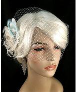Bridal Feather Fascinator, Bridal Fascinator, Feather Fascinator - $74.00